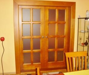 Beltéri kétszárnyú ajtók 1.