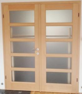 Beltéri kétszárnyú ajtók 2.