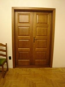 Beltéri kétszárnyú ajtók 3.