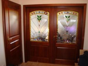 Beltéri kétszárnyú ajtók 4.