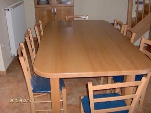 Tömörfa étkező asztalok 1.